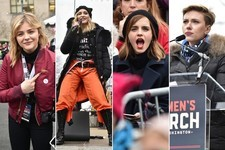 Celebrities Who Attended the Women's March
