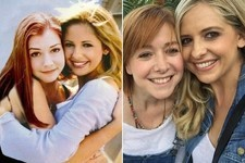Then and Now: 'Buffy' BFFs Sarah Michelle Gellar and Alyson Hannigan