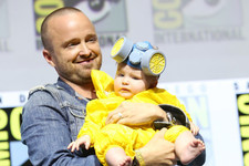 Sorry, But The Best Part Of The 'Breaking Bad' Reunion Was Aaron Paul's Baby